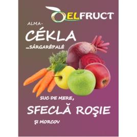 Suc de mere, sfeclă roşie şi morcov