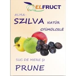 Alma-szilva natúr gyümölcslé