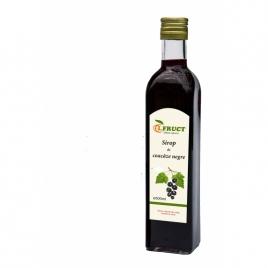 Feketeribizli szörp 0,5l palackos