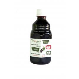 Suc natural de coacăze negre 0,4 l